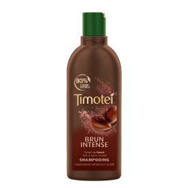 Avant de l'emballage du shampooing Timotei Deep Brunette Shampoo 300ml