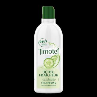 Avant de l'emballage Shampooing Timotei Detox Fresh Shampoo 300ml