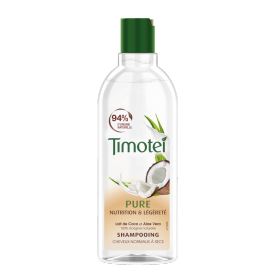 Avant de l'emballage shampooing Timotei Nourished & Light Shampoo 300ml