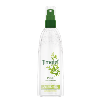 Avant de l'emballage aquaspray pack Timotei Pure Aquaspray 150ml