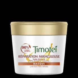 Avant de l'emballage masque Timotei Miraculous Repair Mask 250 ml
