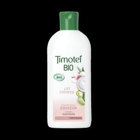 Front of shampoo pack Timotei BIO Suavidad Champú 250ml