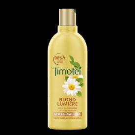 Front of pack Timotei Golden Highlights Odżywka do włosów do włosów blond lub rozjaśnionych 300ml