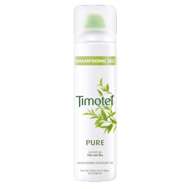 Voorkant van droogshampoo Timotei Pure Dry Shampoo Aero 245ml