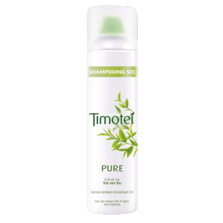 Avant de l'emballage shampooing-sec pack Timotei Pure Dry Shampoo 245ml
