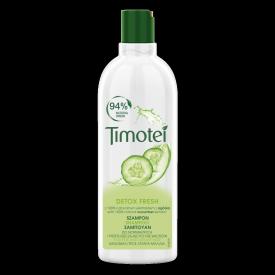 Front of pack Timotei 2in1 Fresh Szampon z odżywką 2w1 do włosów normalnych lub przetłuszczających się 400ml