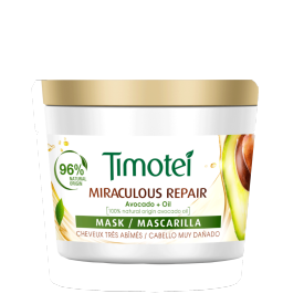 Front of Mask pack Timotei Miraculous Repair Mask 250 ml