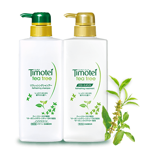 Timotei 植萃洗髮護髮系列 - 茶樹清爽秀髮