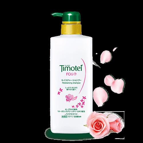 Timotei 產品系列 - 玫瑰保濕植萃洗髮精